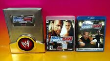 WWE SmackDown vs. Raw 2009 COLLECTOR'S EDITION Sony PlayStation 3, 2008 Complete