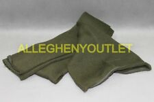 US Military Army Wool Scarf Cold Weather OD Green Tube Double Knit USGI VGC
