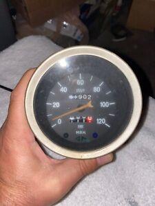 Fiat Spider 120 Mph Speedometer 1810 Rev