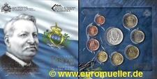 San Marino KMS 2012 bu. - mit 5 Euro Silbermünze