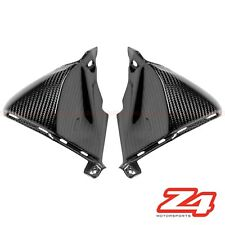 2007-2012 Honda CBR600rr Upper Side Nose Cover Trim Fairing Cowling Carbon Fiber