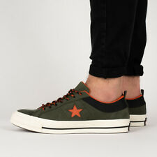 aa54aafcc88cb4 Converse Green Converse One Star Athletic Shoes for Men