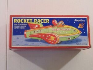 SCHYLLING ROCKET RACER 2001 REPRODUCTION COLLECTORS SERIES  YELLOW