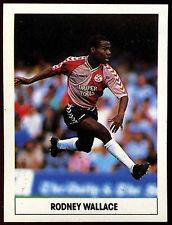 Rodney Wallace Southampton #258 1989/90 il sole football calcio adesivo (c225)