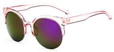 Mohawk Ladies Sunglasses Oversize Pink & Pink Mirror Lens  UV400 Y68
