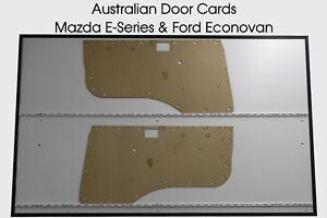 Mazda E-Series & Ford Econovan Door Cards. Blank Trim Panels 1984-1999 Bongo Van