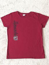 NCAA USC Shirt Woman's Ladies South Carolina Gamecocks TShirt SZ M Medium Garnet