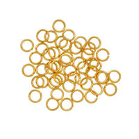 Silver Plated 8mm Jump Rings 1.2mm Thick Pack of 50 B94//8