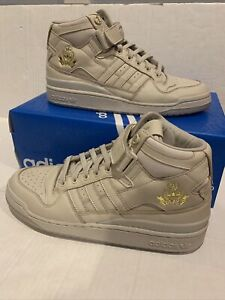 Adidas X LDRS Forum Mid Brown/Gold FW8768 Size 9 DS Rare!