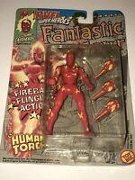 MARVEL SUPERHEROES FANTASTIC FOUR The Human Torch Action Figure Toy Biz 1992