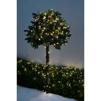 360 LED Christmas Tree Lights String with Chasing Lights, 30 m Cable, Warm White