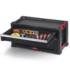 Werkzeugkasten Keter Curver Werkzeugkoffer Ausrüstung Heimwerker 2 Schubladen