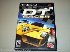 DT RACER Playstation 2 PS2 System Black Label Video Game COMPLETE w/Case Manual