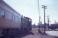 BURLINGTON NORTHERN Railroad Locomotive CHICAGO IL Original Photo Slide