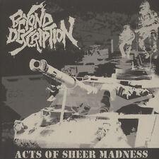 Beyond Description - Acts Of Sheer Madness Vinyl EU LP