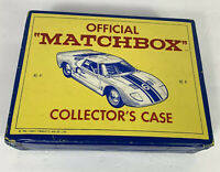Lot of 18 Vintage Lesney Matchbox Cars and Official Case