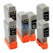 6 PACK BCI-24 NEW Ink for Canon PIXMA MP130 iP1500 iP2000 MultiPASS MP360 F20
