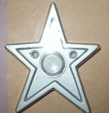 Restore & Restyle Star Wired Doorbell Push Button Silver