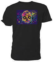 Nuclear Skull T shirt, EMO/FANTASY - Choice of size & colour!