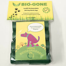 Biodegradable Dog Waste Bag Pet Puppy Poop Clean Up Refill Rolls | 160 Poo Bags