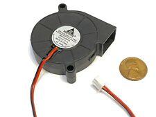 2Pin 65mm 6.5cm GIALLO 3 FORI 11 LAME PC Scheda grafica video VGA ventola di raffreddamento