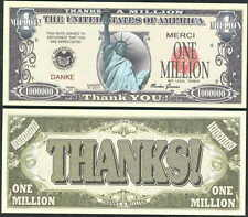MEGA SET OF 477 NOVELTY MOSTLY MILLION DOLLAR BILLS -EACH DIFFERENT