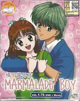 MARMALADE BOY - COMPLETE ANIME TV SERIES DVD BOX SET (1-76 EPIS + MOVIE)