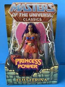 Masters of the Universe Classics Flutterina Princess of Power MOC 100% Complete