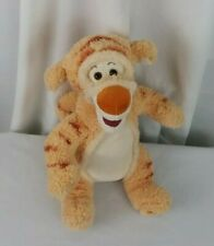 "Authentic Disney Store Winnie the Pooh pastel Tigger soft stuffed 13"" plush"