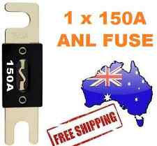 1 x 150AMP ANL Fuse for Dual Battery & Amplifier Wiring Kit Fuse Holders 150 A