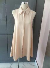 Women's - Nude - Swing Shirt Dress - Size L