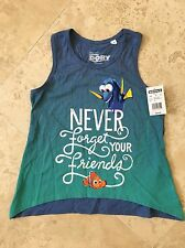 NEW Disney Pixar Finding Dory Nemo Girls Tank Top T Shirt Size L