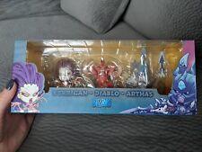 Blizzcon 2013 Cute But Deadly Kerrigan, Arthas, Diablo Figurine Set (F) Blizzard