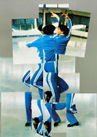 DAVID HOCKNEY Hand SIGNED Lithograph SKATER XIV OLYMPIC WINTER GAMES SARAJEVO 84