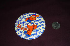 "Vintage 3.5"" Youppi Montreal Expos Mascot 1980 Baseball Pinback Button"