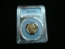 1939-S Jefferson Nickel PCGS Graded MS63 Reverse Of 1938 Nice!!