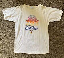 VTG WALT DISNEY World Epcot Center   Mickey Mouse T Shirt 80s   White XL
