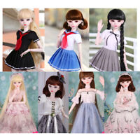 1/3 Trendy Bjd Party Dress Outfit For 60cm Lolita Doll Dress up Accessory