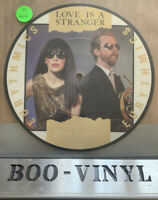 """THE EURYTHMICS ~LOVE IS A STRANGER  ~7"""" VINYL RECORD ~PICTURE DISC ~NR MINT CON"""