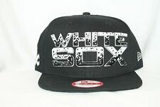 New Era MLB 9Fifty CHICAGO WHITE SOX The Filler 950 Snapback Cap Hat NWT Black
