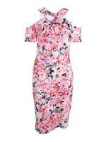 Rachel Rachel Roy Women's Cold-Shoulder Floral Lace Dress