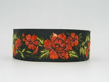 10m AWESOME EMBROIDERED RIBBON TRIM* 34mm width*