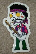 JIMI HENDRIX MUERTO Art Sticker Print DIA DE LOS JOSE PULIDO
