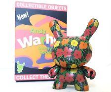 "Kidrobot Andy Warhol Series 2 Dunny 3"" Vinyl Figure - Flowers"