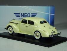 (KI-08-23) Neo Scale Opel Admiral Vorkrieg Limousine Light Beige IN 1:43 Boxed