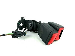 Skoda Superb B8 Rear Center Seat Belt Seatbelt Buckle Unit 3V0857739A
