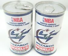 1T Pair NBA Washington D.C. Wizards T-shirts Limited Edition Modell's 1995 NEW!