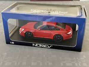 Porsche 911 Carrera 4S Norev 1/18