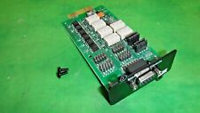 Relay-MS Relay Contacts Board RS232 710-U0042-00P  D