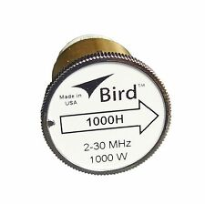 Bird 1000H Thruline WattMeter Element 1000W 2-30 MHz, GENUINE BIRD